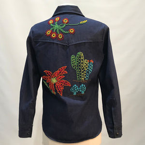 Vintage Denimites Beaded  Jacket